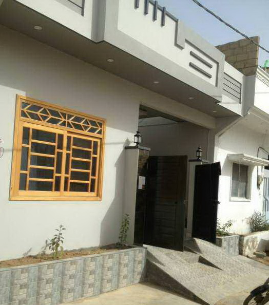 120 Yards Single Story Bungalow for Sale in Saadi Town Karachi | The